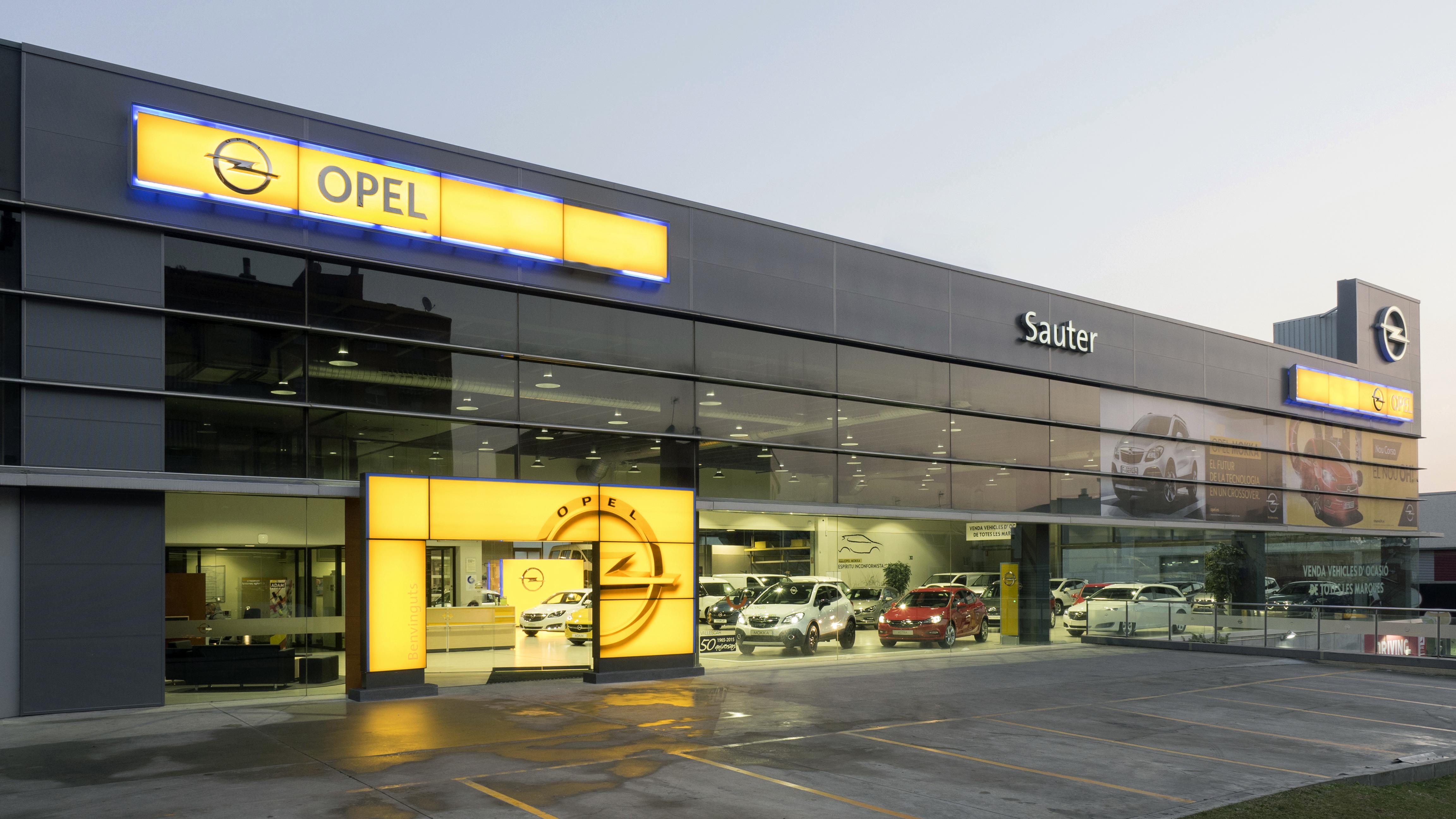 Opel Sauter Terrassa